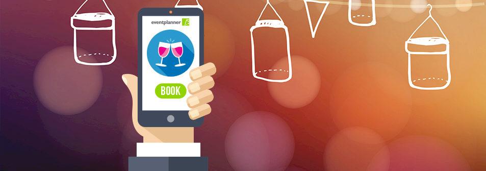 Primeur in eventsector met 'online booking tool'