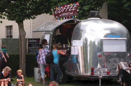 Coffee Bar On Wheels