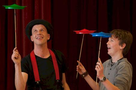 Clown & Jongleur OkiDoki