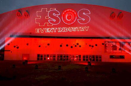 #RedAlert actie van SSLRent in Hasselt (Ethias Arena) - Foto 1