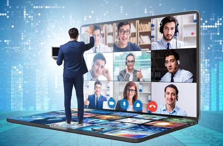 Annuleer uw event niet, maar ga virtueel! Virtuele Conferenties bij BluePoint Venues!  - Foto 1