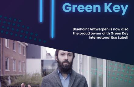 BluePoint Antwerpen is nu ook de trotse eigenaar van het 'Green Key Internationaal Ecolabel'! - Foto 1