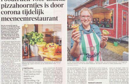 Take Away Pizzahoorntjes Foodtruck - Foto 1