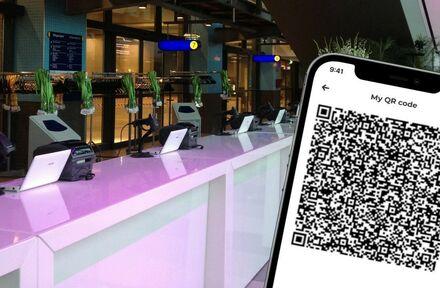 Controle e-tickets en coronatoegangsbewijzen bij één scanbalie - Foto 1
