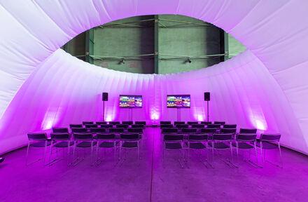 Nieuw opblaasbaar concept creëert meer flexibiliteit bij het organiseren van evenementen - Foto 1
