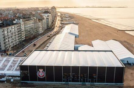 Veldeman bouwt indrukwekkende tijdelijke infrastructuur voor Zoute Grand Prix - Foto 1