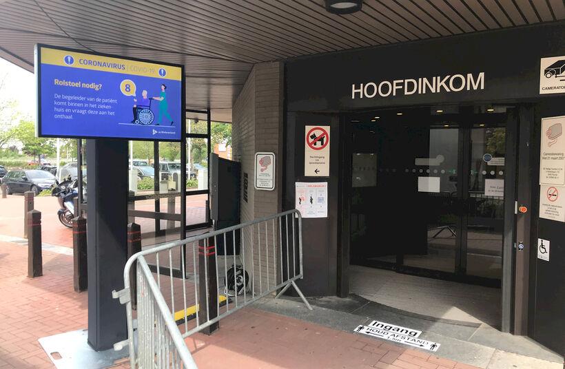 Outdoor schermen voor ziekenhuizen - Foto 1