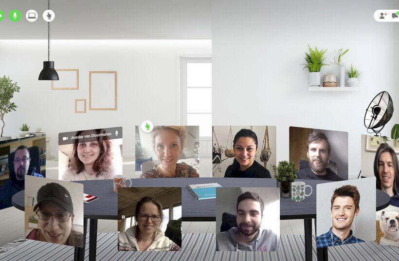 Networkapp brengt het gesprek in de wandelgang weer op gang met de introductie van het Netwerkplein & Virtuele huiskamers.  - Foto 1