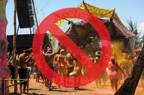 Festival leverancier doet voorstel: verbod op politici!