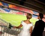 Eerste huwelijk in Amsterdam ArenA
