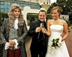 100ste huwelijk in Efteling