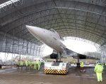De Boer bouwt 'tent' rond Concorde