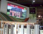 Novid installeert 144 LCD-schermen op Batibouw