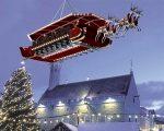 Santa in the Sky, een nieuw winters concept