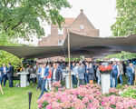 Pop-up eventlocatie in kasteeltuin De Landgoederij