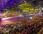 KPN, Vodafone en T-Mobile bouwen nieuw mobiel indoor netwerk in Rotterdam Ahoy