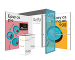 QuiXy, de nieuwe smart exhibition kit van Aluvision