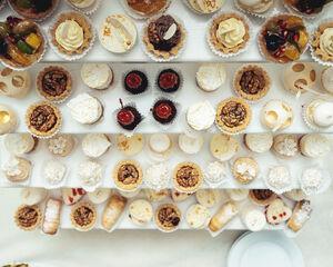 21 cateringstations en -muren waar je gasten stoppen