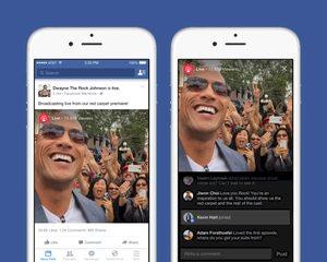 Facebook lanceert live streaming feature
