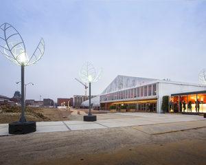 Tijdelijk operagebouw op maat voor Brusselse Muntschouwburg