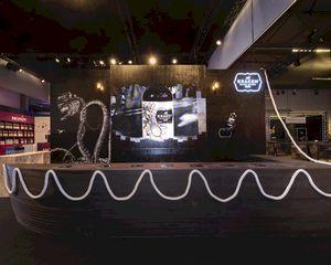 Jet Import kiest voor LEDskin als blikvanger op stand Horeca'expo