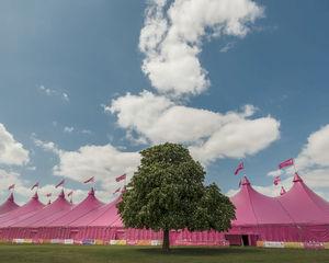 Pink Galaxy perfecte setting voor MoonWalk London