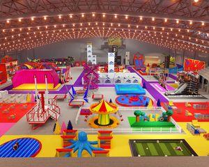 The Fungroup bouwt grootste pop-up indoor attractiepark