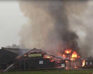 Uitslaande brand bij evenementenboerderij in Boxtel
