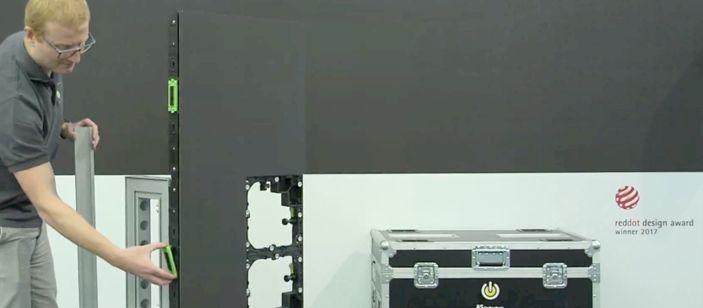LEDskin maakt van je beursstand een echte hotspot