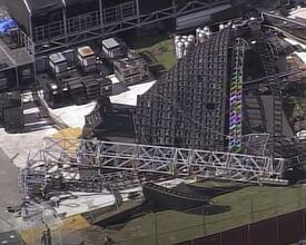 Enorme videowall stort in dag voor muziekfestival
