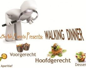 Originele Walking Dinner als teambuilding