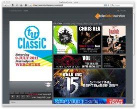 Tele Ticket Service lanceert nieuw ticketingplatform