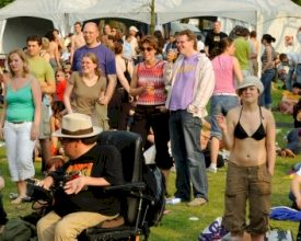 Toegankelijkheid events voor gehandicapten in het gedrang