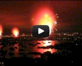 Vuurwerkshow loopt af op een sisser