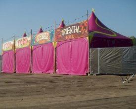 Green Mamba-tent kleurt je festival