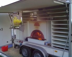 Feesten met verse pizza