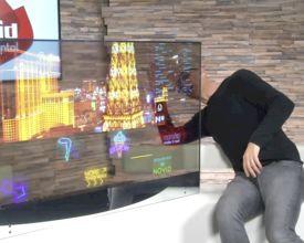 The future is now: transparante OLED schermen van Novid op TV