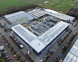 19.000 m2 energie neutrale magazijnen en kantoren voor Van Ham Tenten & Podia