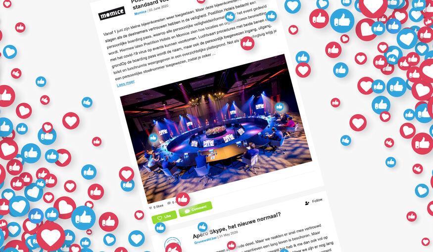 NIEUW: Posts in onze nieuwsbrief