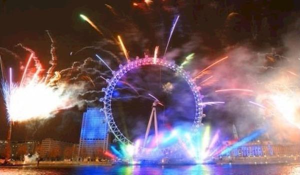 London Eye omgetoverd tot megadiscotheek