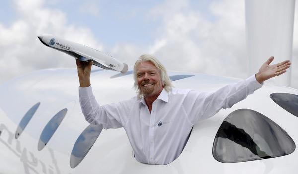 Richard Branson komt naar Antwerpen