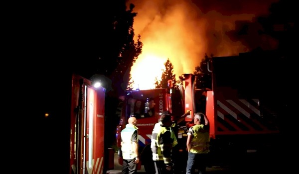 Grote brand verwoest evenbedrijf Primetime