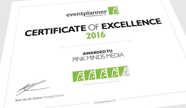 Word jij één van de 'beste eventbedrijven' van 2016?