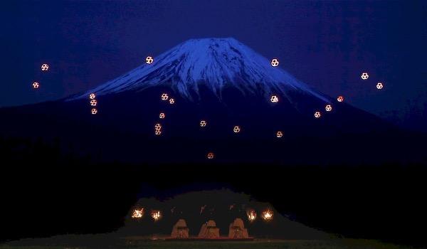 Lichtspektakel met drones en... duiven