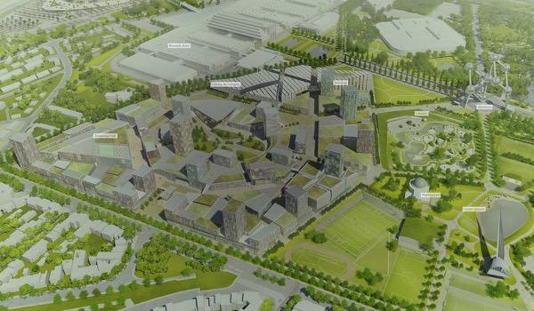 Nieuw congrescentrum in Brussel