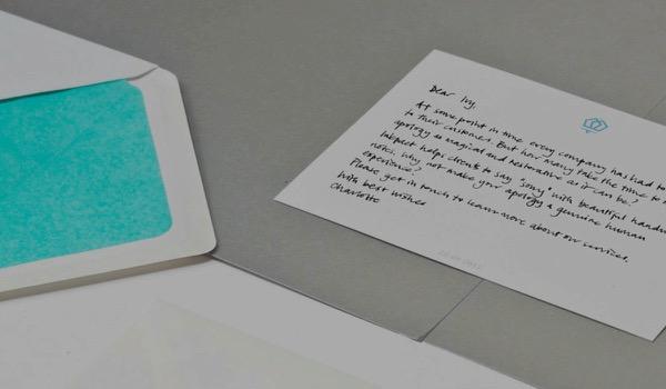 Start-up Inkpact stuurt handgeschreven berichten