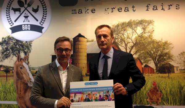 Eric Everard, CEO Artexis Easyfairs, is 'Live Communicatie Ambassadeur 2016'