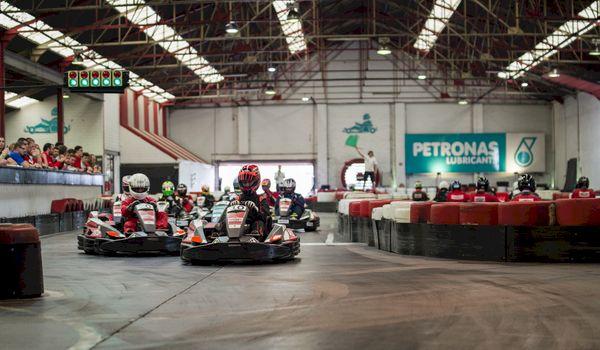 Ultieme kartingrace van het jaar