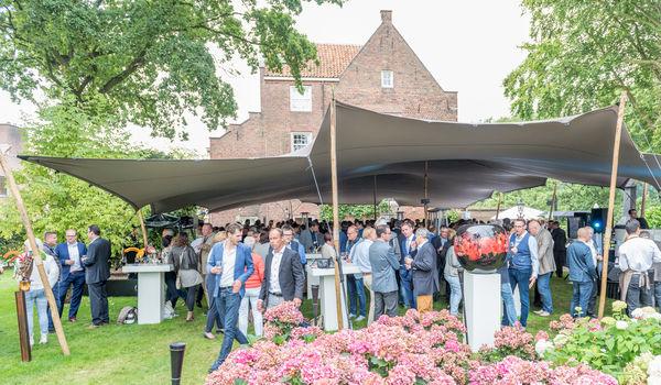 Pop-up eventlocatie in kasteeltuin De Landgoederij