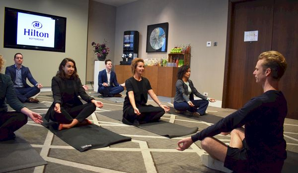 Hilton Rotterdam introduceert Meet with Purpose-concept